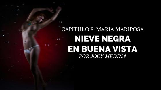 María Mariposa novela cubana