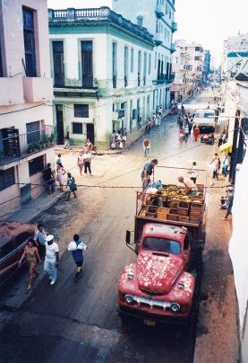 camiones de la habana by freeimages